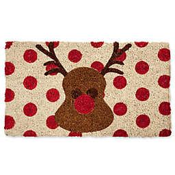 Entryways Rudolph 18-Inch x 30-Inch Coconut Fiber Door Mat