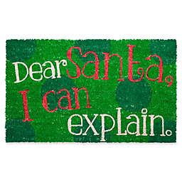 Entryways Dear Santa17-Inch x 28-Inch Multicolor Door Mat
