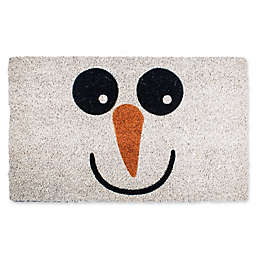 Entryways Snowman 17-Inch x 28-Inch Multicolor Door Mat