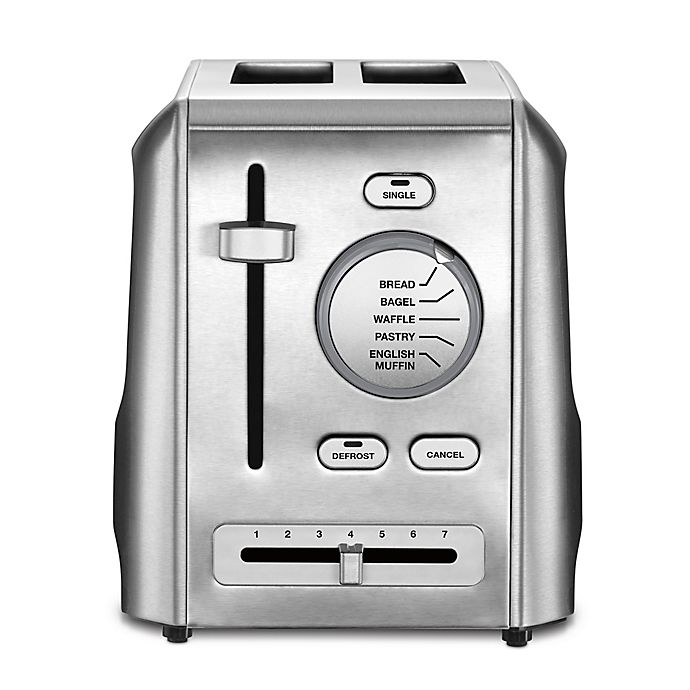 Alternate image 1 for Cuisinart® 2-Slice Metal Toaster in Stainless Steel