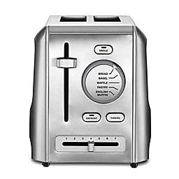 Cuisinart® 2-Slice Metal Toaster in Stainless Steel