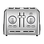 Cuisinart® 4-Slice Metal Toaster in Stainless Steel