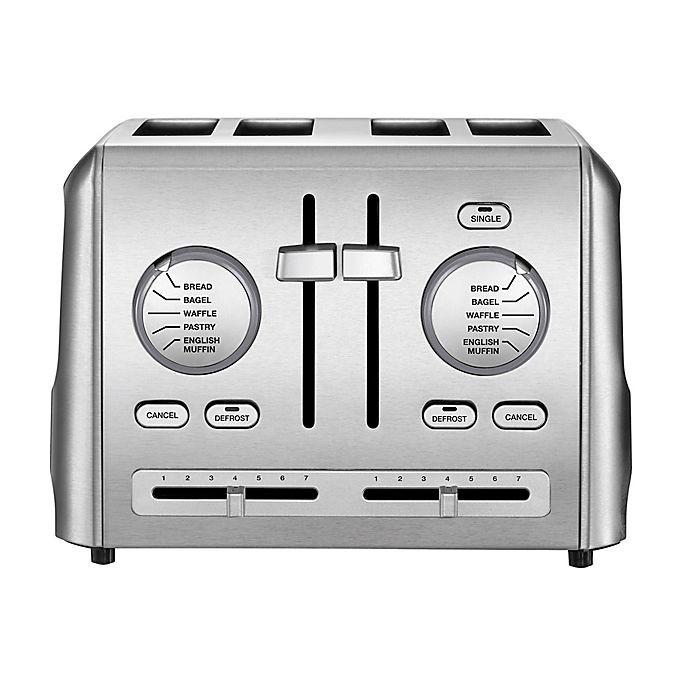 Alternate image 1 for Cuisinart® 4-Slice Metal Toaster in Stainless Steel