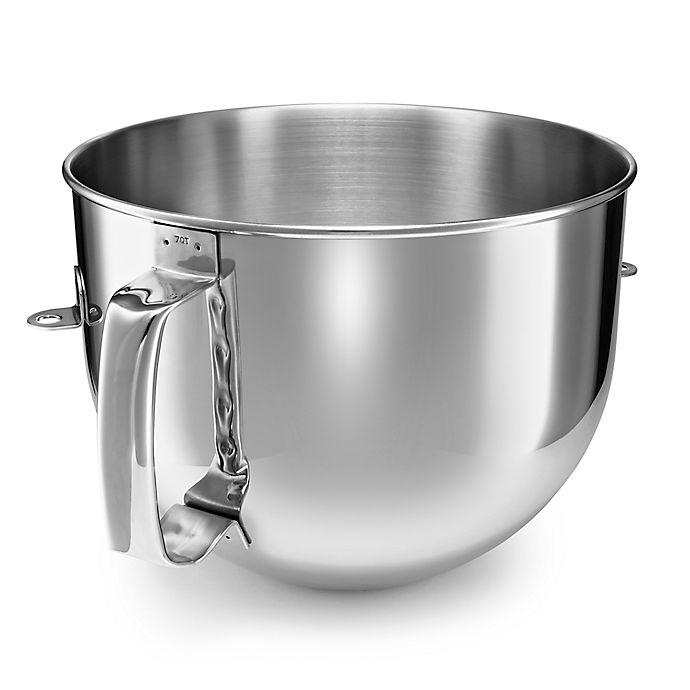 Alternate image 1 for KitchenAid® Stainless Steel 7-Quart Bowl-Lift Mixer Bowl