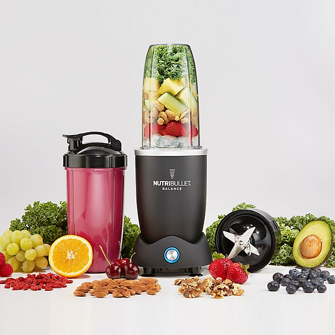 Alternate image 1 for NutriBullet® Balance Blender in Black