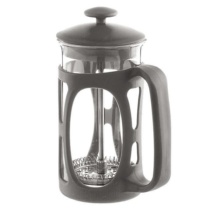 Alternate image 1 for Grosche Basel 6-Cup French Press in Grey