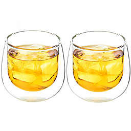 Grosche Double Wall Glass Mugs (Set of 2)