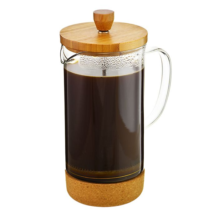 Alternate image 1 for Grosche Melbourne 8-Cup Bamboo and Cork French Press