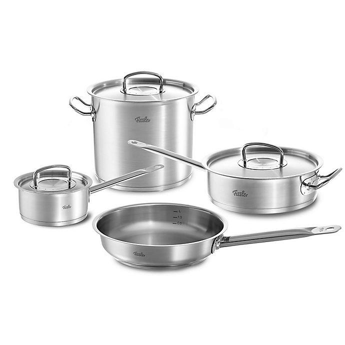Alternate image 1 for Fissler Original Profi Stainless Steel 7-Piece Cookware Set