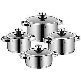 WMF Livo Stainless Steel 8-Piece Cookware Set