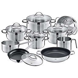 WMF Achat Stainless Steel 14-Piece Cookware Set