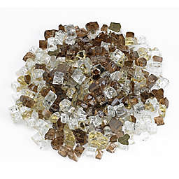 American Fireglass 10 lb. Reflective Fire Glass in Zion