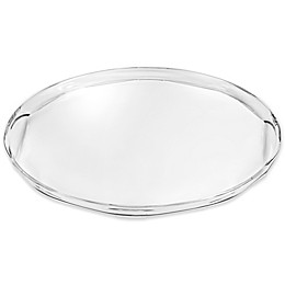 Destination Summer Rippled Clear 20.5-Inch Indoor/Outdoor Serving Tray