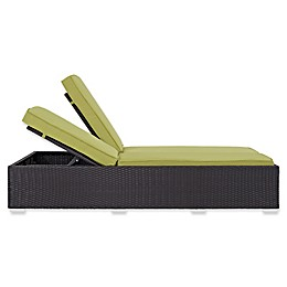 Modway Convene Outdoor Double Patio Chaise Lounge