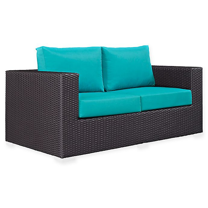 Modway Convene Outdoor Patio Loveseat Bed Bath Amp Beyond