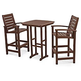 POLYWOOD® Signature 3-Piece Bar Set