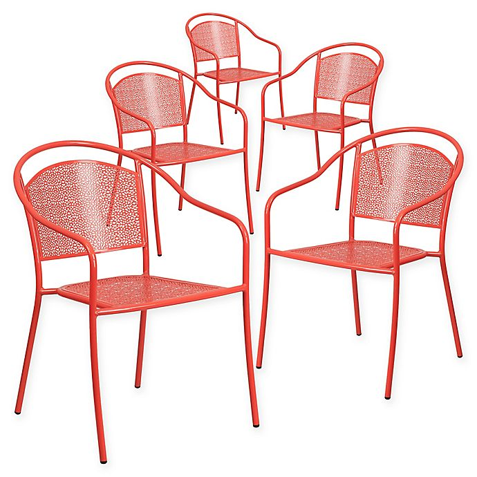 Alternate image 1 for Flash Furniture Armchairs (Set of 5)