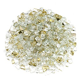 American Fireglass 10 lb. 0.5-Inch Reflective Fire Glass