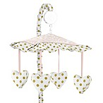 Sweet Jojo Designs Amelia Musical Mobile in Pink/White