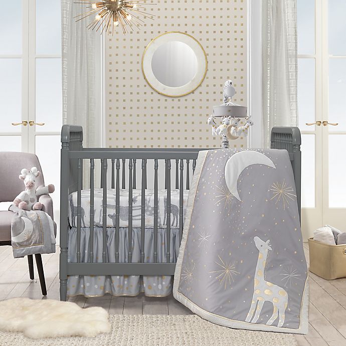 Alternate image 1 for Lambs & Ivy® Goodnight Giraffe 4-Piece Crib Bedding Set