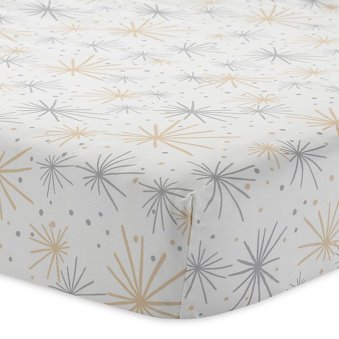 Alternate image 1 for Lambs & Ivy® Goodnight Giraffe Fitted Crib Sheet
