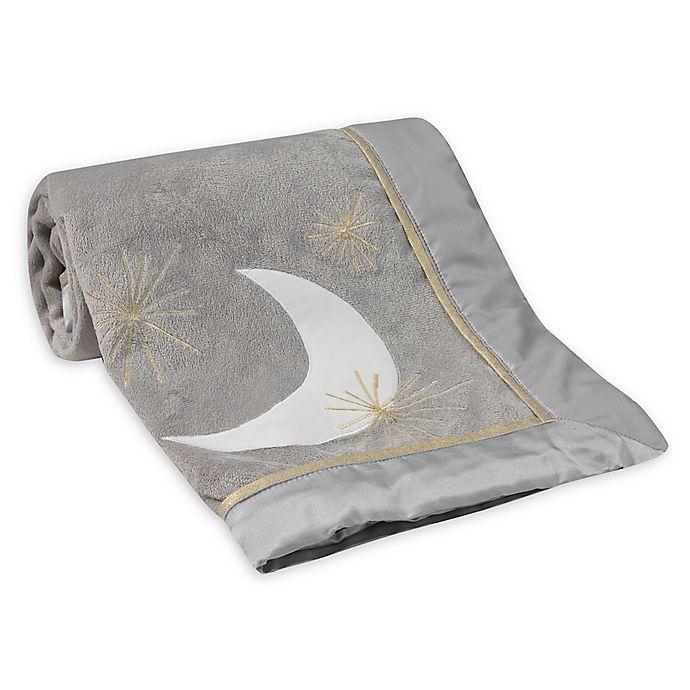 Alternate image 1 for Lambs & Ivy® Goodnight Giraffe Reversible Plush Blanket
