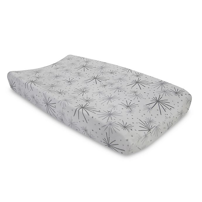 Alternate image 1 for Lambs & Ivy® Goodnight Giraffe Changing Pad Cover
