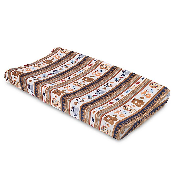 Alternate image 1 for NoJo® Aztec Forest Changing Pad Cover