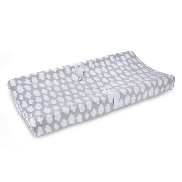 Alternate image 1 for carter's® Print Velboa Changing Pad Cover