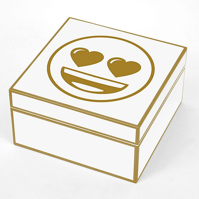 Concepts In Time Heart Face Emoji Trinket Box | buybuy BABY