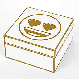 Concepts In Time Heart Face Emoji Trinket Box