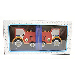 Concepts In Time Tractor Book Ends (Set of 2)