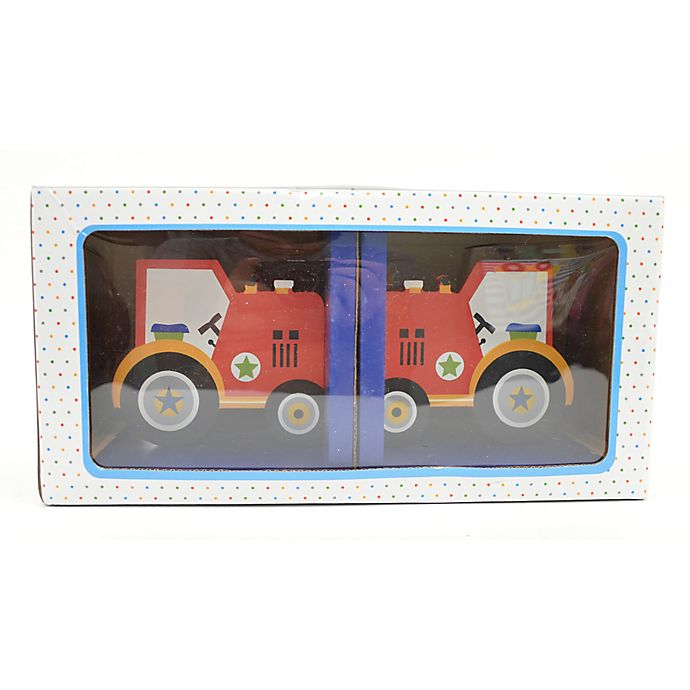 Alternate image 1 for Concepts In Time Tractor Book Ends (Set of 2)