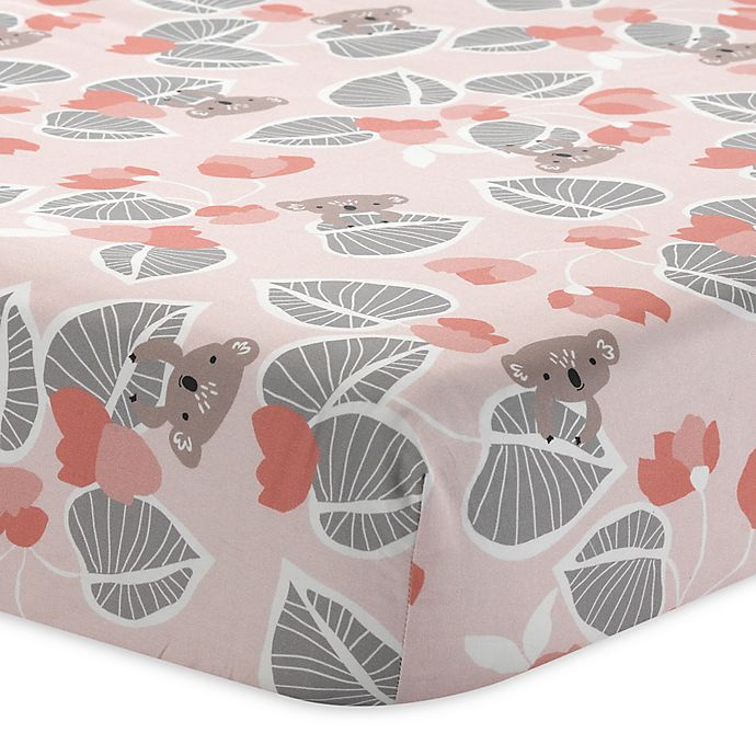 Alternate image 1 for Lambs & Ivy® Calypso Fitted Crib Sheet
