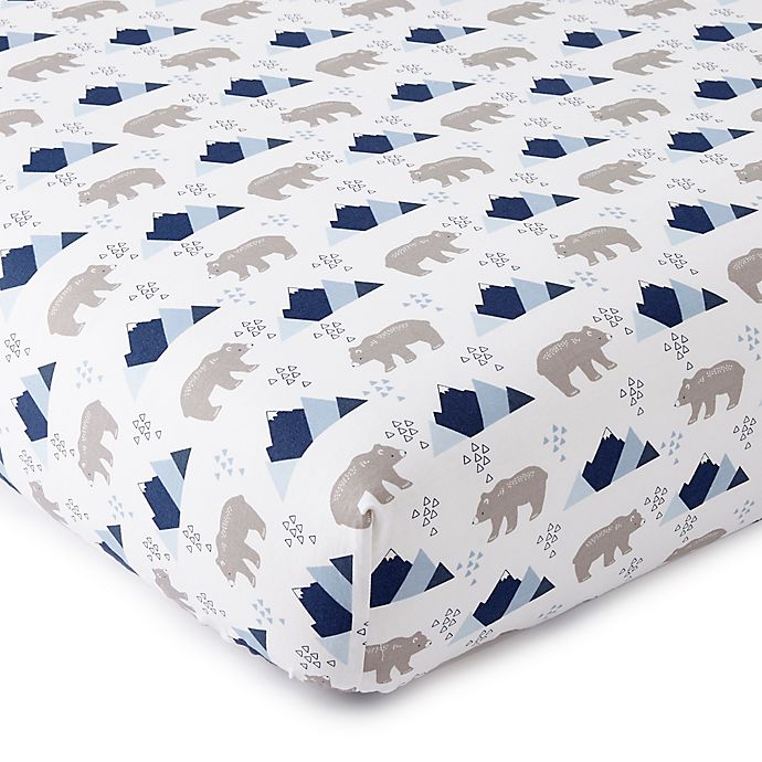 Alternate image 1 for Levtex Baby® Trail Mix Fitted Crib Sheet