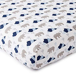 Levtex Baby® Trail Mix Fitted Crib Sheet
