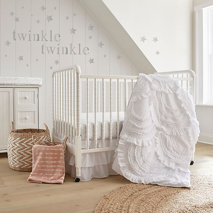 Alternate image 1 for Levtex® Baby Skylar Crib Bedding Collection in White