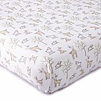 Levtex® Baby Skylar Woodland Fitted Crib Sheet in Blush