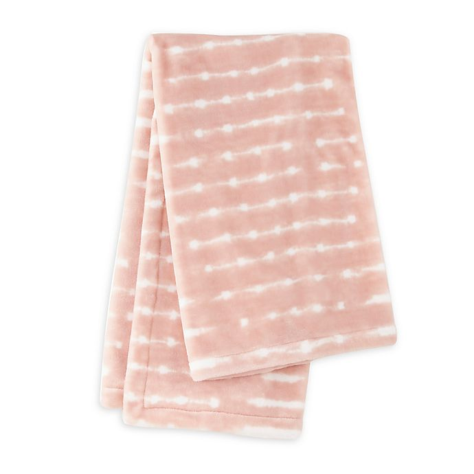 Alternate image 1 for LevtexBaby® Skylar Plush Blanket in Pink