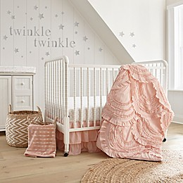 LevtexBaby® Skylar 4-Piece Crib Bedding Set in Blush