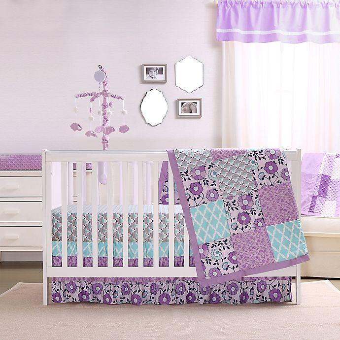 Alternate image 1 for The Peanutshell™ Zoe 4-Piece Crib Bedding Set
