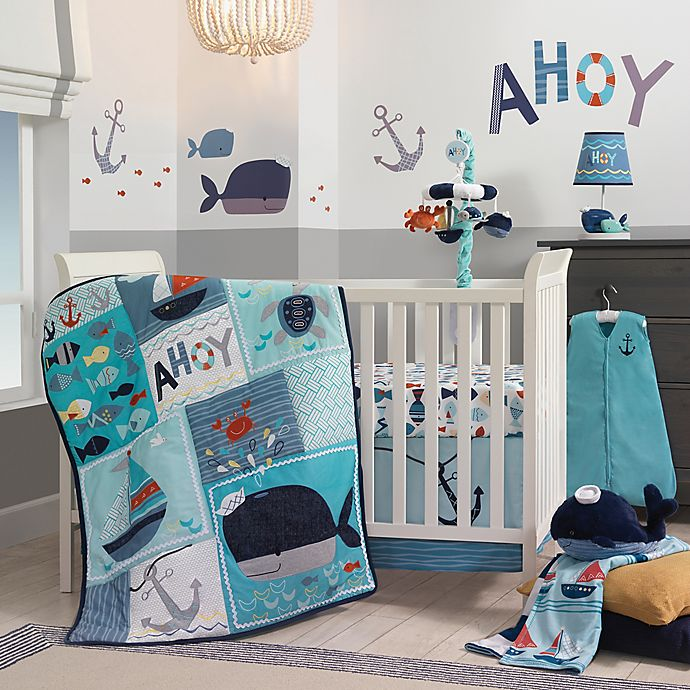 View A Larger Version Of This Product Image Click To Zoom Alternate 1 For Lambs Ivy Ahoy Crib Bedding Collection