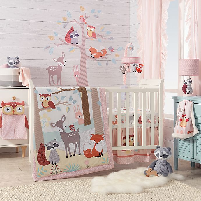 Alternate image 1 for Lambs & Ivy® Little Woodland Forest Crib Bedding Collection