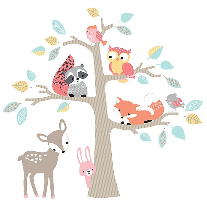 fb9626b17 Lambs   Ivy® Little Woodland Forest Wall Decals