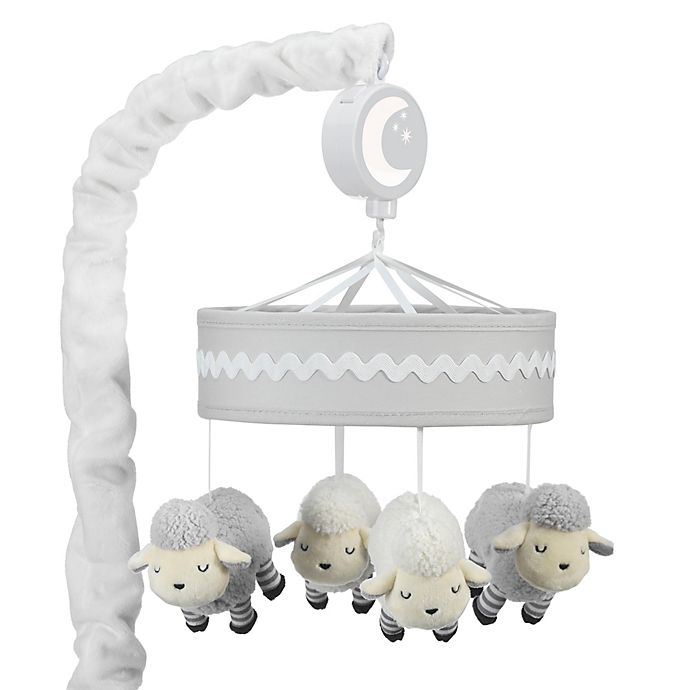 Lambs Amp Ivy 174 Little Sheep Musical Mobile Bed Bath Amp Beyond