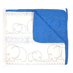 Tadpoles™ Quilted Elephant Baby Blanket