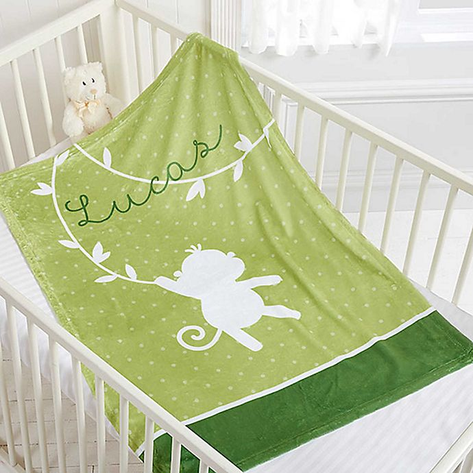 Alternate image 1 for Baby Zoo Animals Fleece Blanket