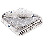 aden® by aden + anais® Denim Wash Cotton Muslin Blanket in Blue