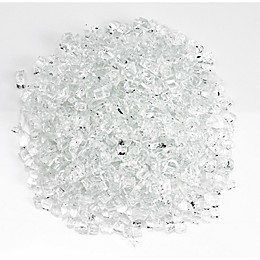 American Fireglass Starfire 0.25-Inch Fire Glass in Clear