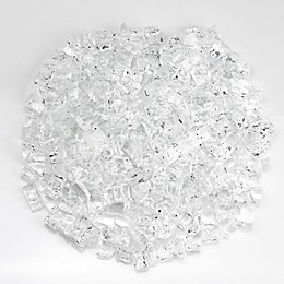 American Fireglass Starfire 0.5-Inch Fire Glass in Clear